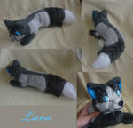 Commission: Luna finished by CyanFox3