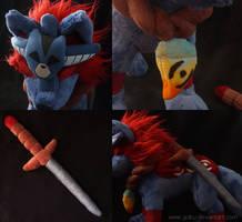 Okami: Oki's details by CyanFox3