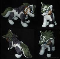 Zelda - Wolf Link - FINISHED 2 by CyanFox3
