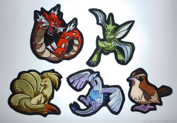 SOLD OUT: Pokemon patches - batch 1 by CyanFox3