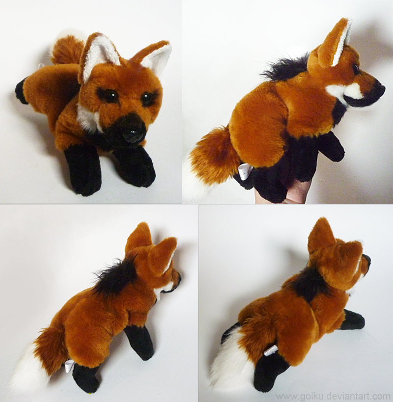 For Sale Maned Wolf Small Floppy By Cyanfox3 On Deviantart