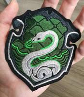 Slytherin House Crest ~ Harry Potter by CyanFox3