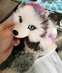 Aurora fox WIP by CyanFox3