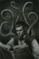 Reading the Necronomicon by sorrowking