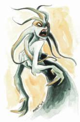 Snake Goddess by sinyx