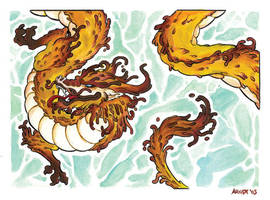 Eastern Dragon by sinyx