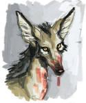 Painty Jackal by sinyx