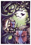 Owl Mystics by sinyx
