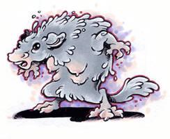 Nippy Werewolf by sinyx