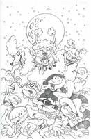 Kids Next Door Comic Cover by sinyx