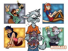 MoonDog Wallpaper by sinyx