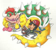 Miyamoto's Average Workday by RomaniZ