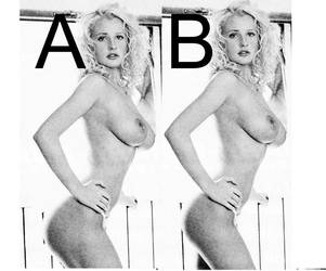 which hip is better, A or B? by kate212