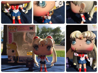 Custom Hot Topic Exclusive Sailor Moon Funko Pop! by PaulineFrench