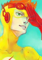Kid Flash by LovliKitsune