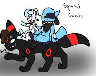 Squad goals by Sammy-ShinyVictini