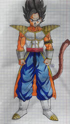 Dragon Ball Fusions: EX GOGETA by Darkhameleon