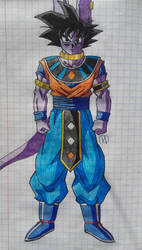 Dragon Ball Fusions: GORUS by Darkhameleon