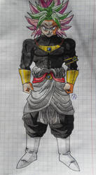 Dragon Ball Fusions: KAROLY BLACK by Darkhameleon
