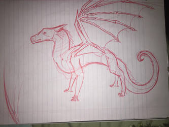 me trying to figure out dragon anatomy by Shadowstorm133