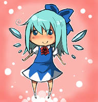 Ice Fairy Cirno by Melonenbrot