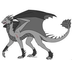 Seizu - Dragon Oc by GoldenSkarmory