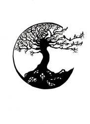 Moon Tree by chibiyin