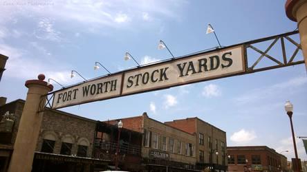 Fort Worth Stockyards by Zena-Xina