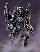 TLIID tryout: Steampunk Batman by AxelMedellin