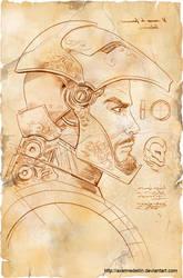 TLIID 156, Da Vinci's Iron Man, part 2 by AxelMedellin
