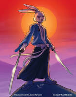 30 years of Usagi Yojimbo by AxelMedellin