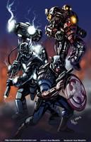 TLIID 225. Part 3: Steampunk Avengers by AxelMedellin