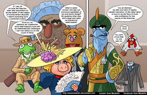 TLIID 259. The League of Extraordinary Muppets by AxelMedellin