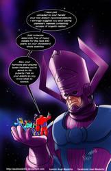 TLIID 267. Big Hero 6 vs Galactus by AxelMedellin