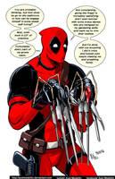 TLIID 277. Deadpool Scissorhands by AxelMedellin