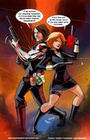 TLIID 376.  Black Widow and Bucky got married by AxelMedellin
