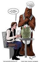 TLIID 393. Han, Chewie and Alien by AxelMedellin