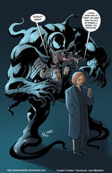 TLIID 412. The X-Files vs Venom by AxelMedellin