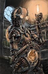 Wood robot 10 K by AxelMedellin