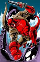 Hellboy by AxelMedellin