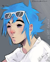 Quick G Shock 2D sketch by DeadskullBroscircus