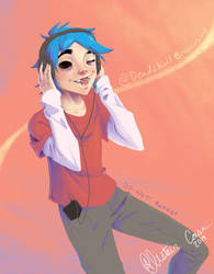 2D Is Jammin by DeadskullBroscircus