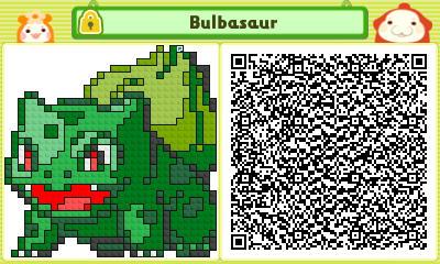 Pushmo Qr Codes Pokemon Bulbasaur By Tgiuseppe94 On Deviantart