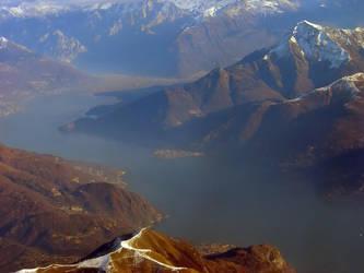Lecco's Lake - Dervio by TeoB