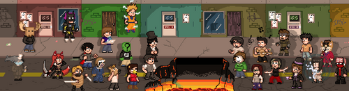 Pixel War by Ikarus2