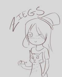 Cartoony Ziegs by Ikarus2