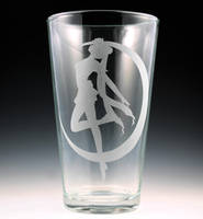 Sailor Moon Pint Glass by Yukizeal
