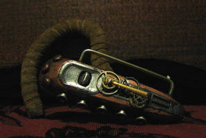 Steampunk Bluetooth by Reverend-Spooky