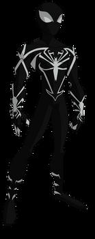 Spectacular Spider-Man Unlimited Black Suit by ValrahMortem