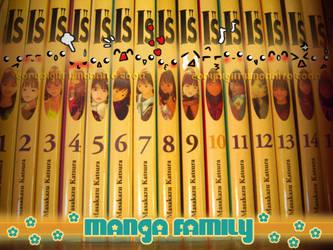 Cute manga family 'Is' by hinoraito